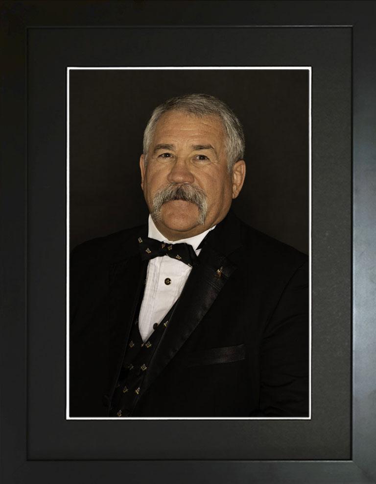 Thomas F. Hamm II, Grand Master, Grand Lodge of Wyoming